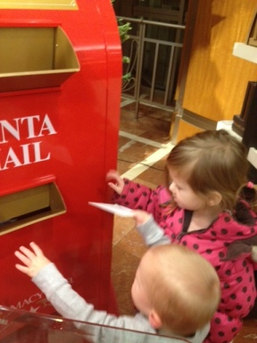 Mailing Their Letters!
