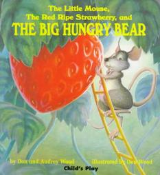 winter hungry bear