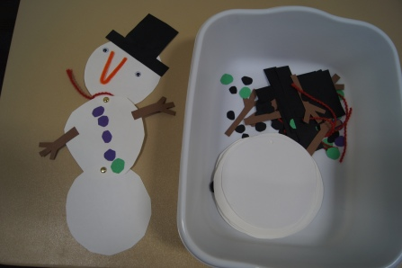 The Craft turned out even cuter then expected! The kids were able to do a lot more on their own than I had anticipated.