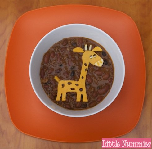 food giraffe