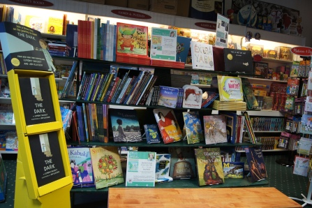 There is also a hardy non-fiction and local authors section.