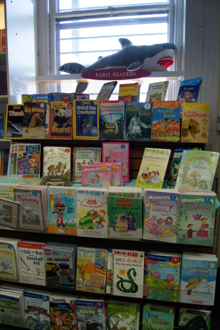 Their books are organized by area of interest and reading levels.