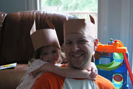 My daughter loved her llama hat so much, she wore it all day. She also made her Dad wear one with her.