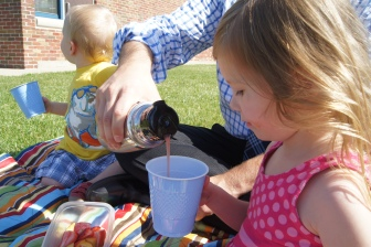 We even brought a thermos of it to a picnic with Dad at work!  It was soo good and refreshing.  I can see why Pinkalicious was able to sell of hers :)
